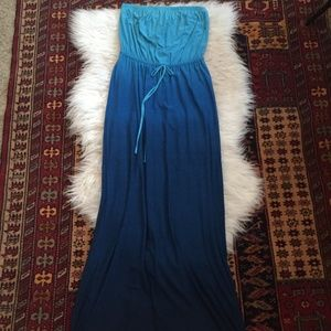 Old Navy Ombre Maxi Dress